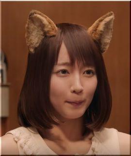 【日清どん兵衛CM】うれしくてしっぽをパタパタするどんぎつねの女優は誰?