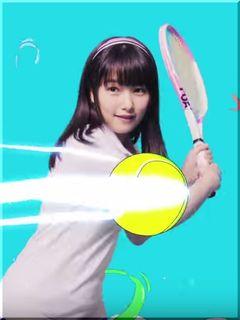 【コロプラ白猫テニスCM】1周年記念コラボフェス!テニスする女優は誰?