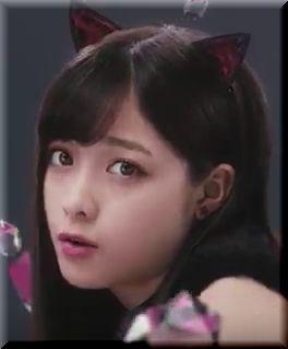 【ロート製薬リップベビークレヨンCM】橋本環奈が黒猫カンナに!