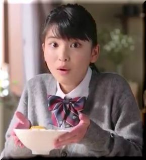 【永谷園CM】お茶漬けに目玉焼き♪朝のおひさま茶漬を食べる女子高生は誰?