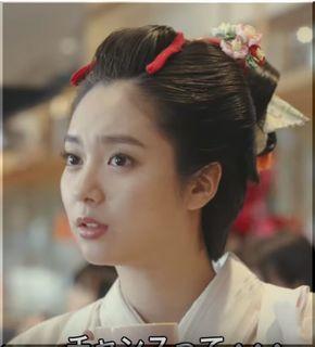 【バレンタインジャンボ宝くじCM】侍の娘千代が登場!着物姿の女優は誰?